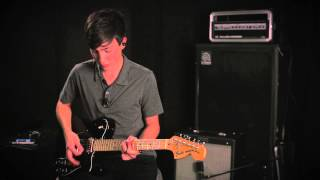 "COS Electric Guitar Lead Tutorial for ""Wake"" by Hillsong Young and Free"