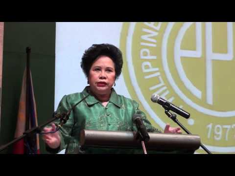 """Speech - """"Medical Leadership"""" and """"Political Leadership after PDAF and DAP"""""""