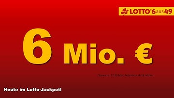 Lotto am Mittwoch 16.12.2015: 6 Millionen im Lotto-Jackpot, 3 Millionen im Spiel 77-Jackpot