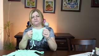 Robadan Kahve Çekirdekli Bebek Tulumu