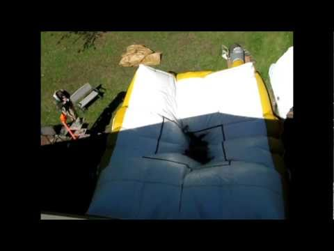 30 Foot Highfall Into A Stunt Airbag