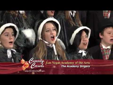 The Academy Singers from the Las Vegas Academy for the Arts Perform Holiday Music