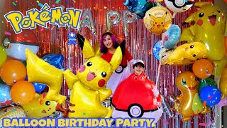 Giant Pikachu Balloon & Inflatable Pokeball Costume Birthday Party Christmas Inflatable Present!