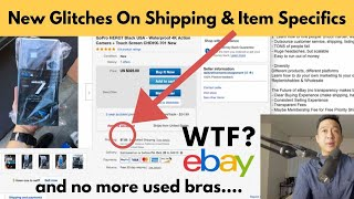 2 New eBay Glitches & 2 Ways To Deal With It  (Added Shipping & Item Specifics) (Q4 2019)