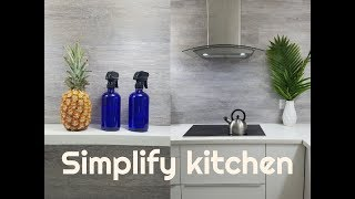 20 THINGS I DON'T OWN IN MY KITCHEN AS A MINIMALIST SIMPLIFY KITCHEN  MINIMALIST KITCHEN declutter