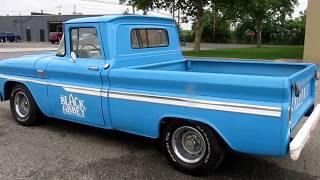 1964 CHEVY C10 SHORT BED SWB FLEETSIDE PICKUP TRUCK 350 V8 $9950!