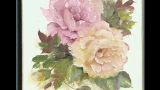 "The Beauty of Oil Painting, Series 1, Episode 8 ""Pink and Yellow Roses"""