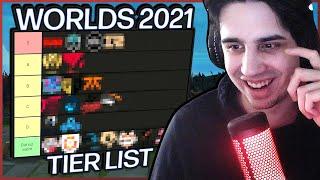 IWD's Worlds 2021 Teąms Tier List | League of Legends