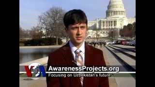 Dmitriy Nurullayev, AwarenessProjects.org, talks to VOA Uzbek on Uzbekistan, US and youth