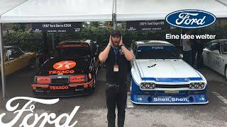 JP und Ford bei den Classic Days am Schloss Dyck 2017