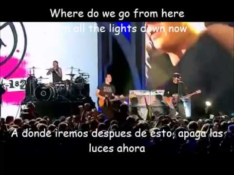 Blink 182-Feeling This Lyrics y Subtitulada LIVE 2013 HAPPY ANIVERSARY