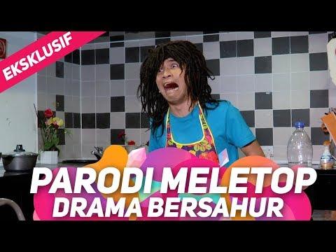 Drama bersahur sebelum dan selepas berkahwin I Parodi MeleTOP Eksklusif | Bell Ngasri
