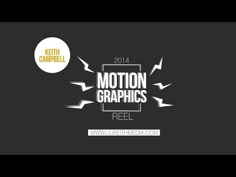 Keith Campbell 2014 Motion Graphics Reel