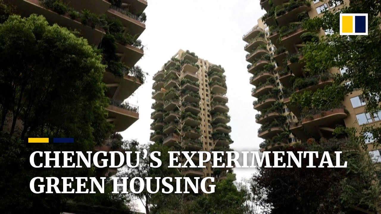 China's 'vertical forest' residential complex offers urban green living