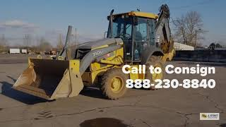 Video still for J. Stout Announces Equipment Sale March 13