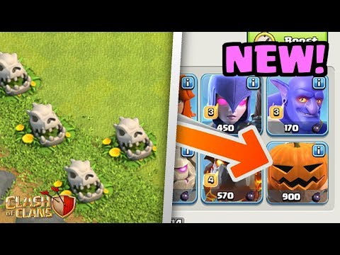 6 Things You Missed In The NEW Halloween Update In Clash of Clans