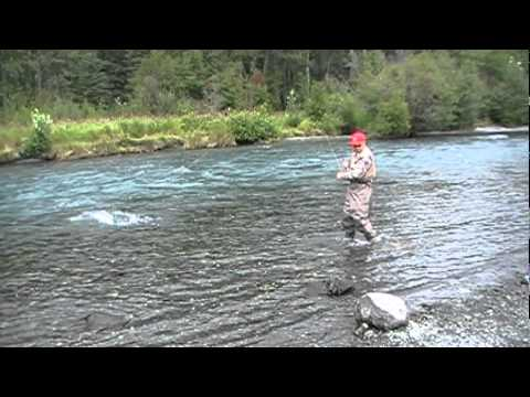 "Alaska Sockeye ""Red"" Salmon Fishing - Russian / Kenai River - Fly Fishing"