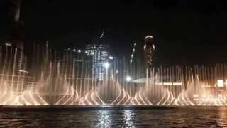 Fountain Dance Burj Khalifa Down Town Dubai