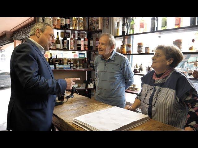 Déplacement de Jacques Colombier dans les Pyrénées Orientales