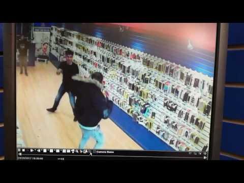 Cellphone shop fight