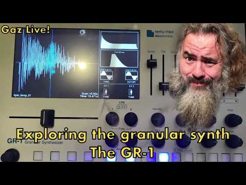 Exploring the GR-1 granular synthesiser
