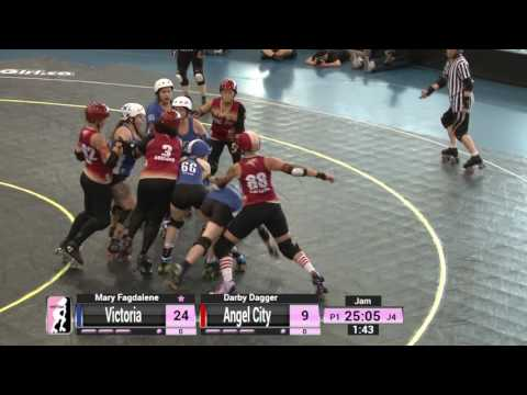 Game 17: Victorian Roller Derby League v Angel City Derby Girls
