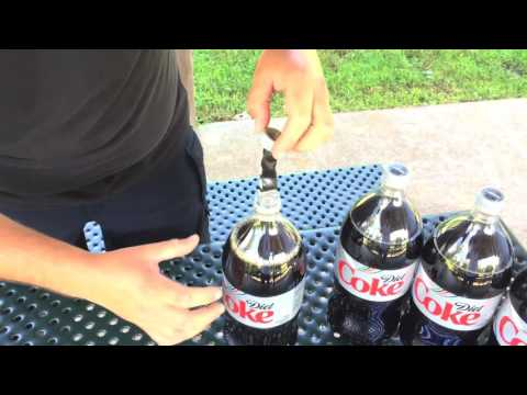 Diet Coke And Mentos Rocket: 10 Years Later