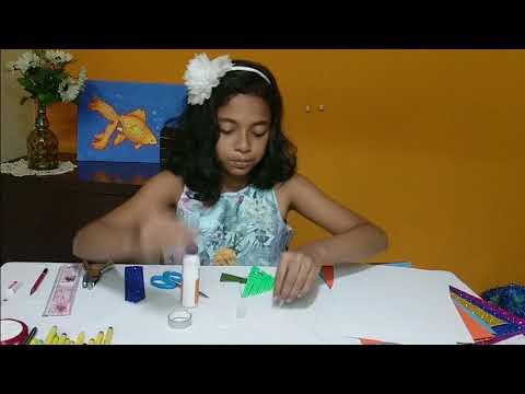 Bookmark making tutorial for kids