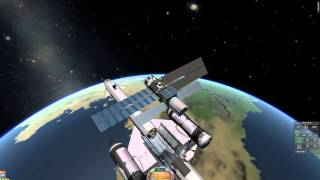 Kerbal Space Program: Skylon-launched communications satellite