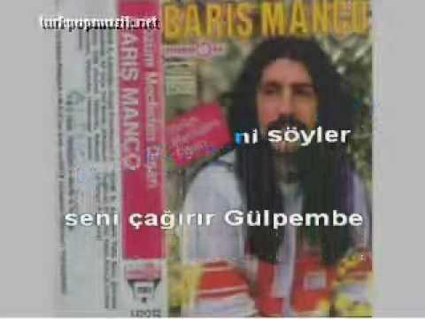 Barış Manço - Gülpembe (Karaoke)