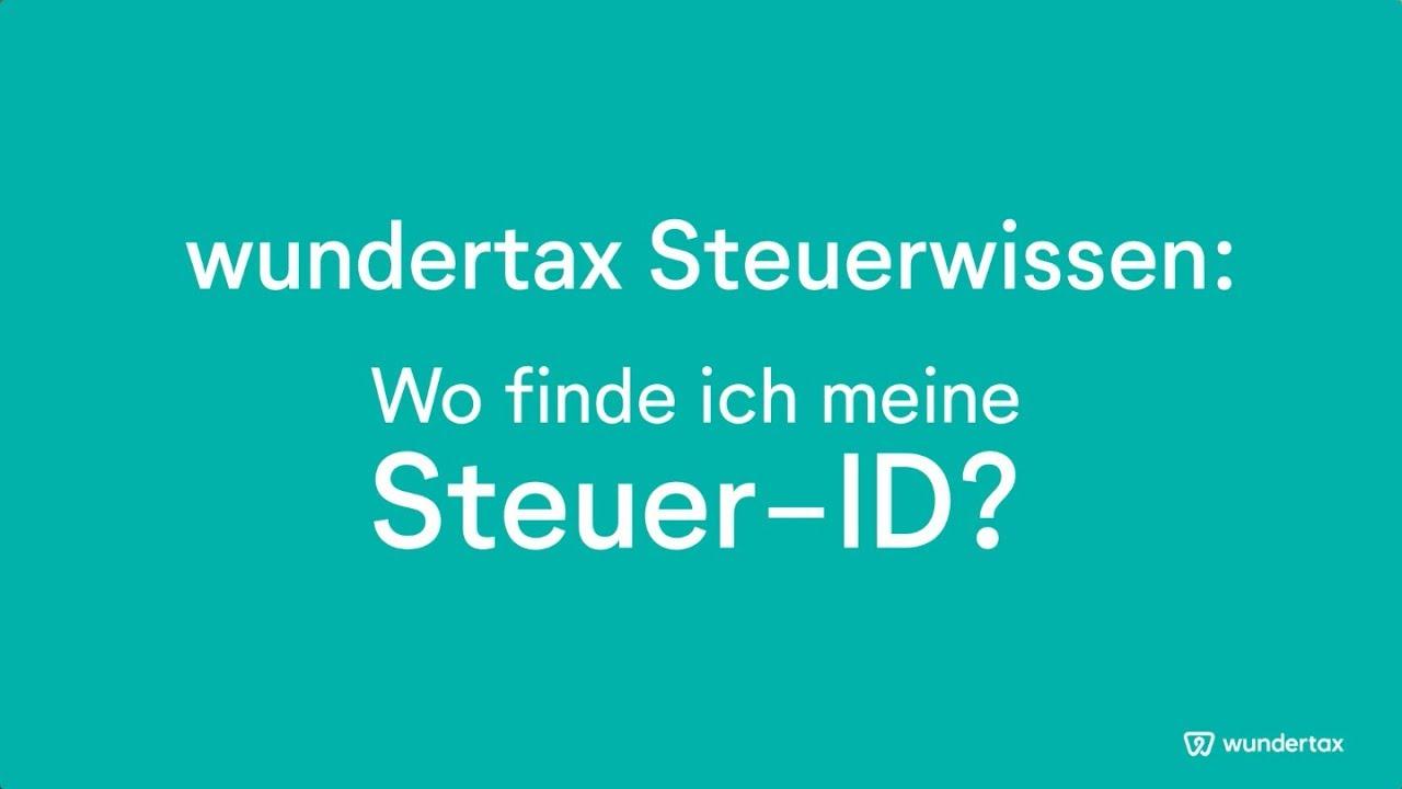 steueridentifikationsnummer ab wann