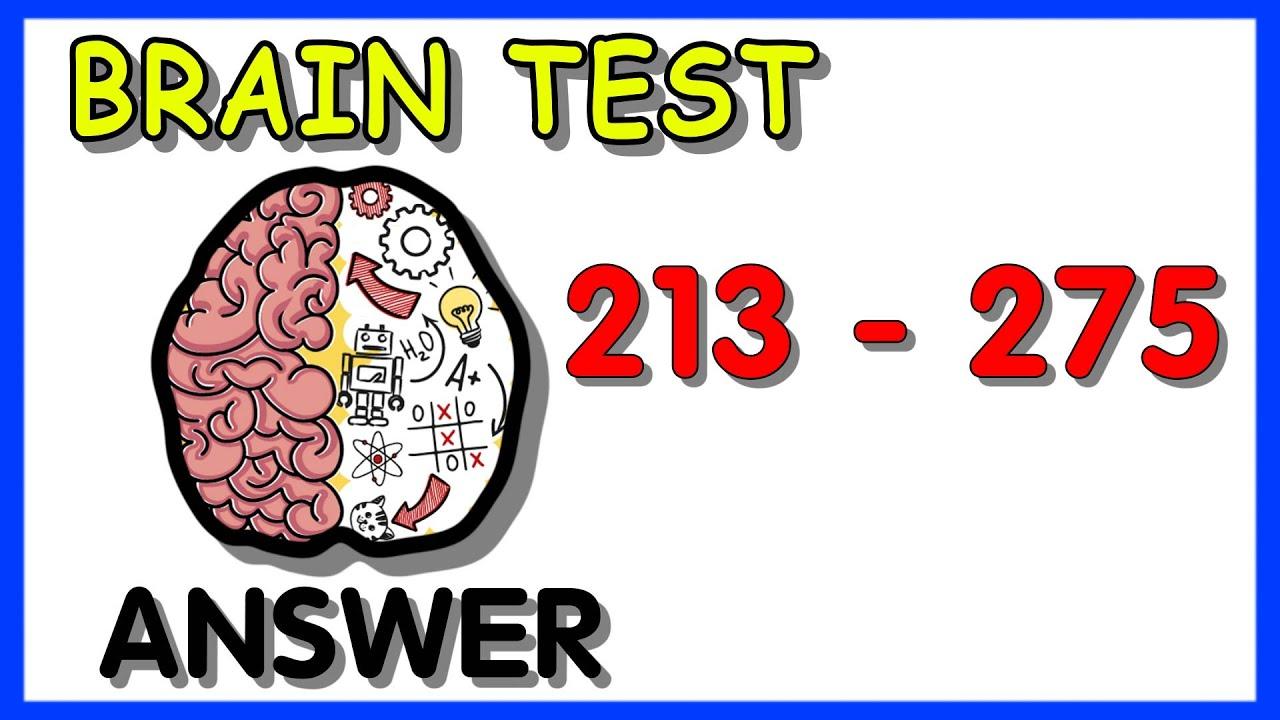 BRAIN TEST LEVEL 214 ANSWERS  BRAIN TEST TRICKY PUZZLES WALKTHROUGH