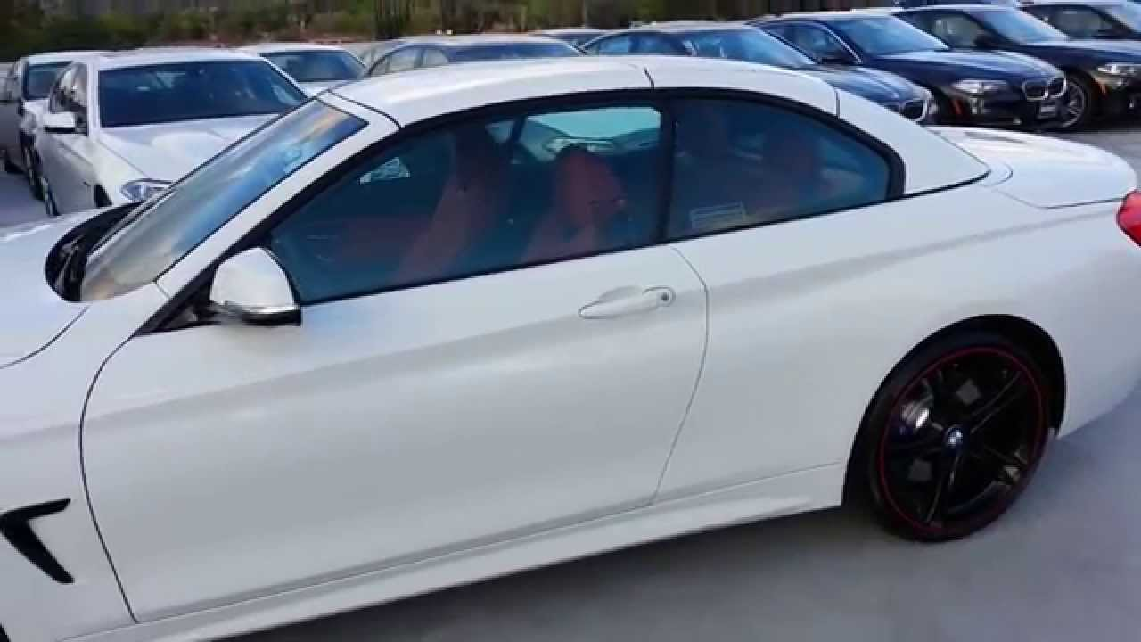 NEW BMW 435I Convertible with 20 inch black Wheels Car ...