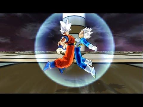 Goku and Vegeta MUI Fusion! - Vegetto Mastered Ultra Instinct | DBZ Budokai Tenkaichi 3 |