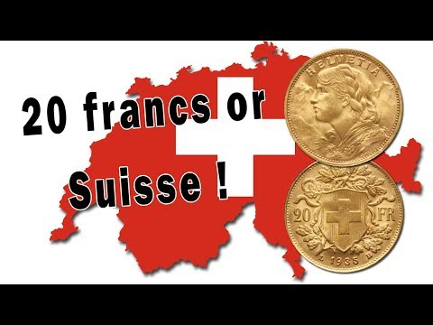Gold coins of 20 Swiss Francs : an excellent alternative to 20 french francs