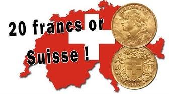 Les pièces d'or de 20 francs Suisses : une excellente alternative aux Napoléons