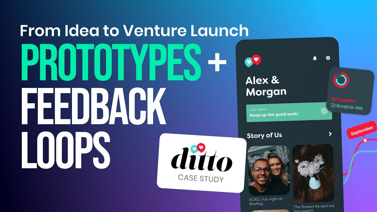 From Startup Idea to Venture Launch - Figma Prototypes & Customer Feedback Loops