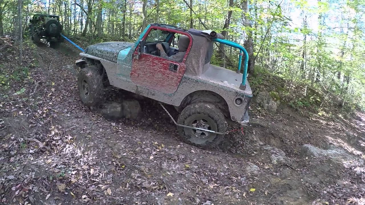 Jeeps And Wrenches Pickett Fall Colors Ride Trail 100