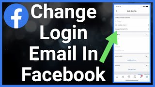 How To Change Login Email On Facebook (New Primary Email)