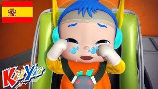Canciones Infantiles   Las Ruedas del Autobus 3   Dibujos Animados para Niños    KiiYii en Español