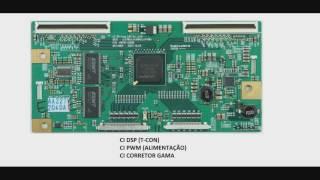TV LCD 36   Exemplo de placa T con 1