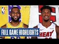 LAKERS at HEAT   FULL GAME HIGHLIGHTS   December 13, 2019