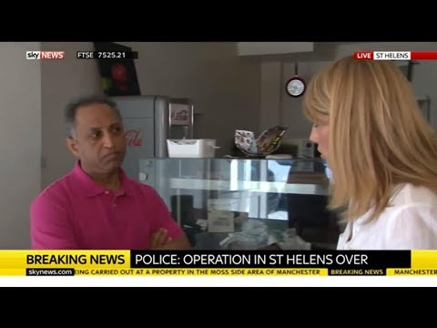 Manchester Attack: Police raid in St. Helens - Rebecca Williams