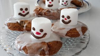 눈사람초코칩쿠키, 크리스마스 베이킹, 미니디저트쇼케이스…