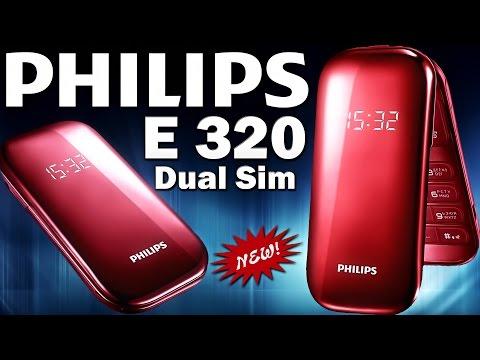 Мобильный телефон : Philips E320 Dual Sim Red