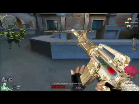 Crossfire North America 2.0 : M4A1-S- Jewelry - (M4A1 -Noble Rose) - Hero Mode X ( Zombie V4 )