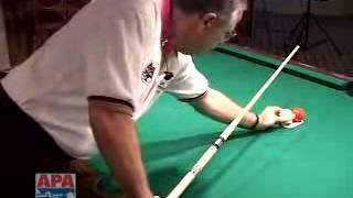 POOL PARADISE BILLIARDS BAR ANGELES CITY - Pool Lesson - Aiming Cue Ball