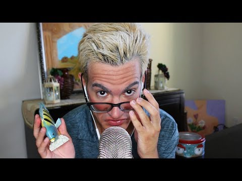 Old Man Tries ASMR Role Play (tapping, FUNNY!)