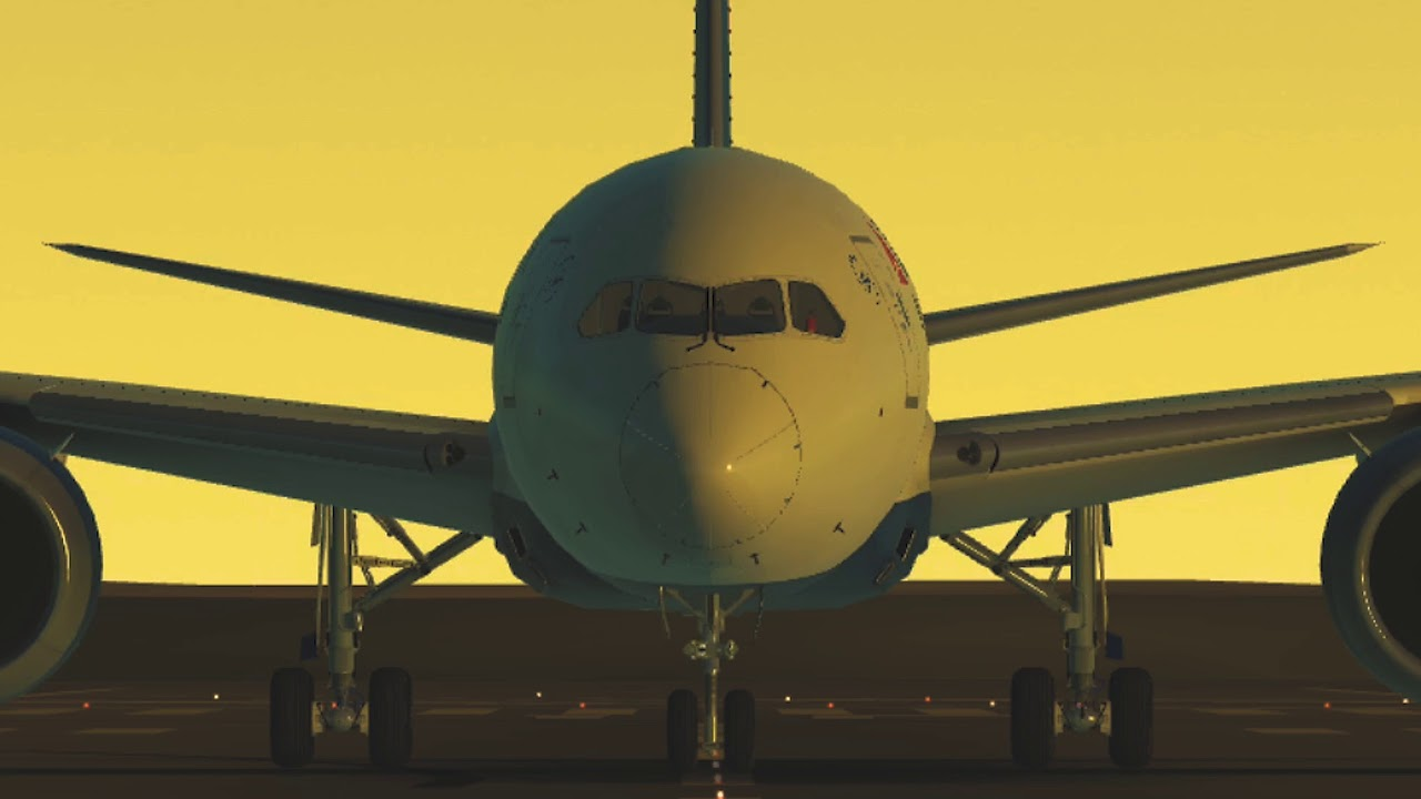 Test24   Unreleased Infinite Flight MIA-CVG demo edit
