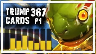 Hearthstone: Trump Cards - 367 - A Deck Of Dinormeous Proportions - Part 1 (Paladin Arena)